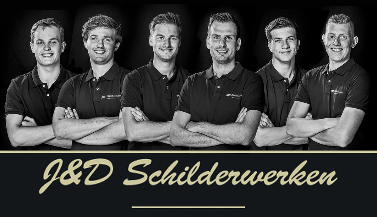 J&D Schilderwerken teamfoto